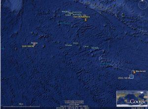 Острова Кука - подводная гора Макдональд.