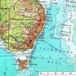 Плюм под Восточной Австралией