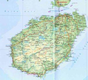 Остров Хайнань.