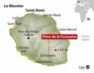 Вулканы острова Reunion